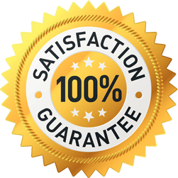 Our plumbers offer a 100% satisfaction guarantee
