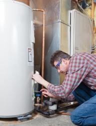 plumber in Redwood City CA handles water heater maintenance